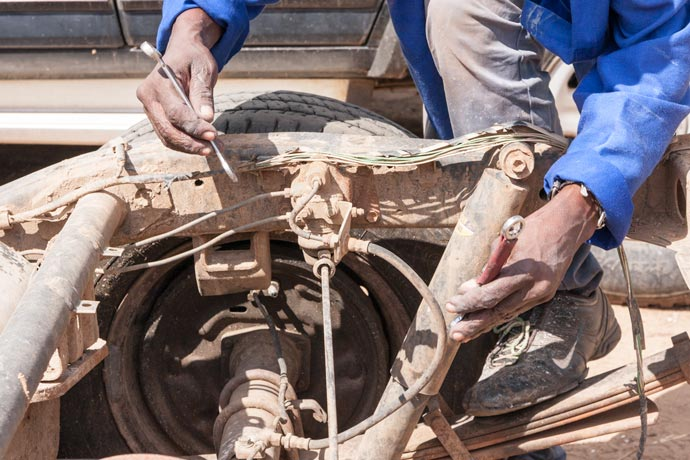 Brake Repair, Kasane, Botswana
