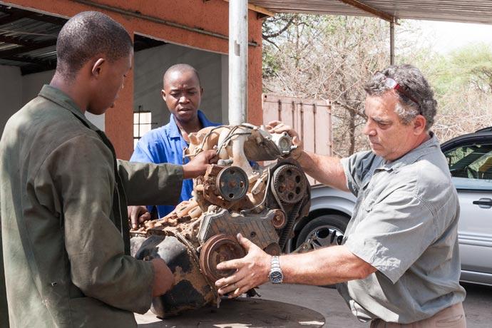 Engine Repair, Kasane, Botswana