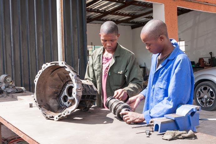 Transmission Repair, Kasane, Botswana